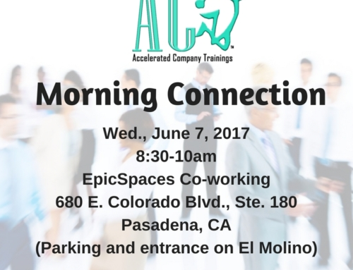 June 7 Morning Connection